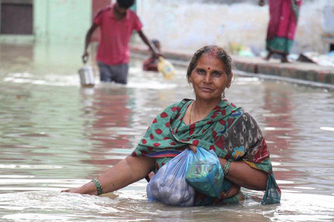 mulher-feminismo-mudancas-climaticas-india